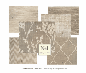Riverbank Bedding and Drapery Collection