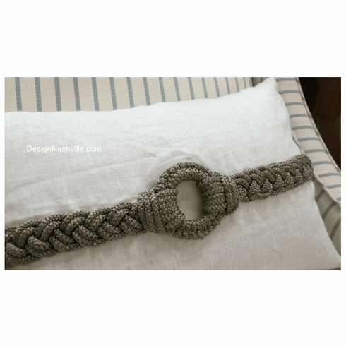 Rope Ring of Conviction Pillow