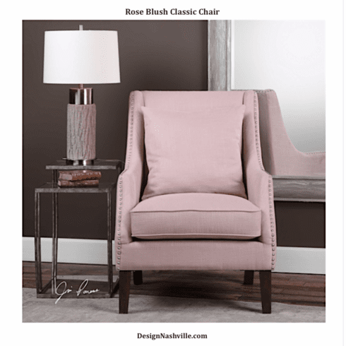 Rose Blush Classic Chair