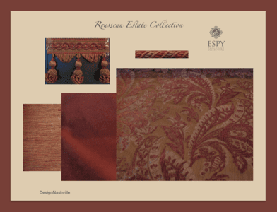 Rousseau Estate Bedding and Drapery Collection