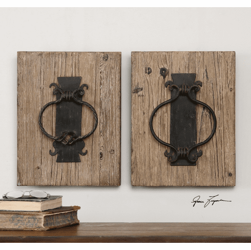 Rustic Door Knockers set of 2