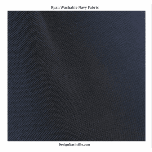 Ryan Washable Navy Fabric