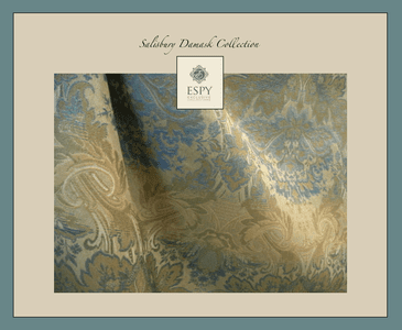 Salisbury Damask Bedding and Drapery Collection