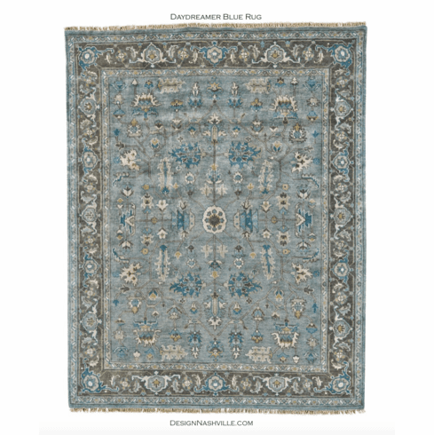 Sample Daydreamer Blue Rug