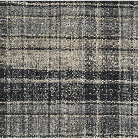 Sample Emmett Plaid Rug grey