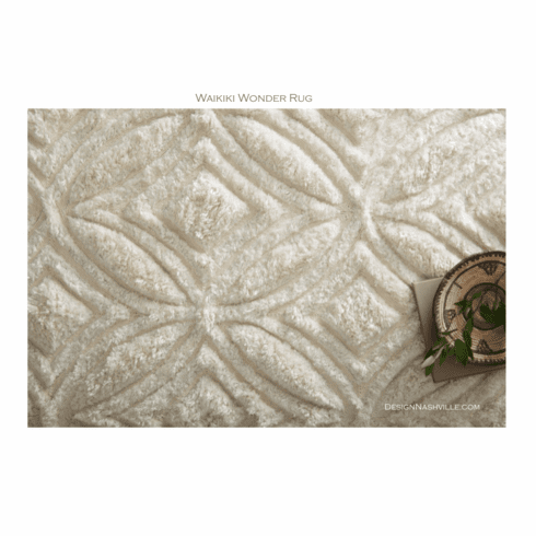 Sample Waikiki Wonder Tufted Rug