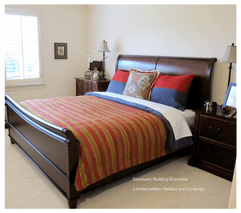 Sanctuary Bedding and Drapery Collection