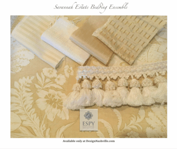 Savannah Estate Bedding and Drapery Collection