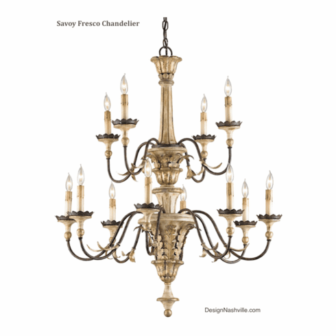 Savoy Fresco Chandelier