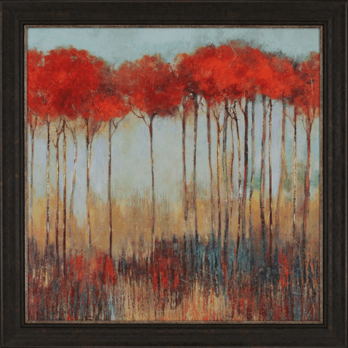 Scarlet Grove of Trees 42""