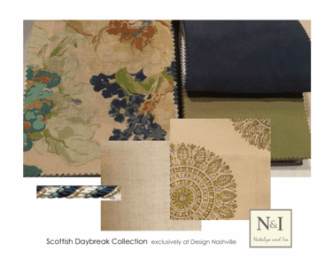 Scottish Daybreak Bedding and Drapery Collection
