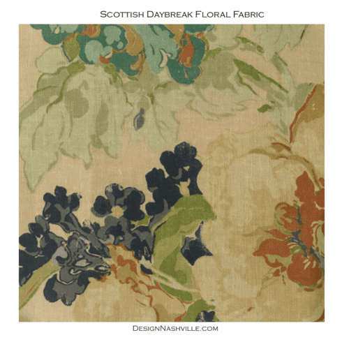 Scottish Daybreak Floral Fabric