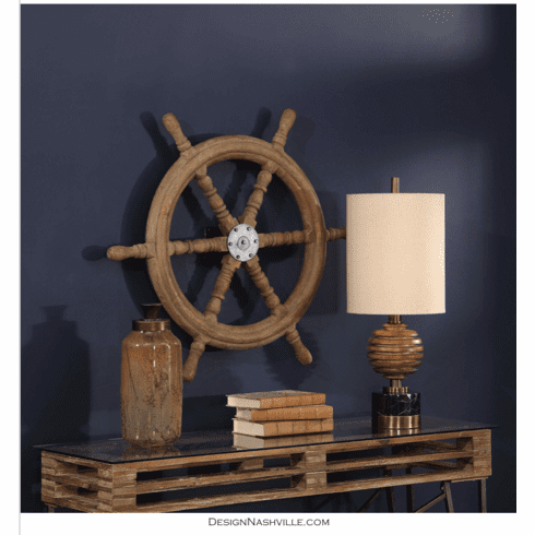 Ship's Wheel Wall Decor
