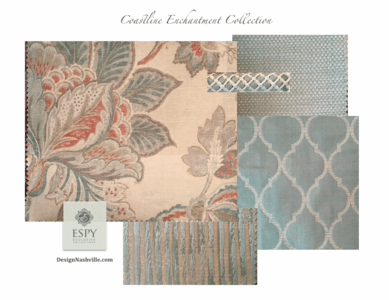 Shoreline Enchantment Bedding and Drapery Collection
