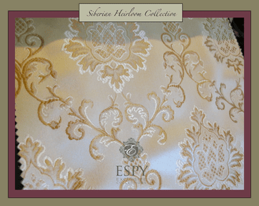 Siberian Heirloom Bedding and Drapery Collection