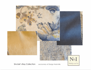 Sinclair's Bay Bedding and Drapery Collection