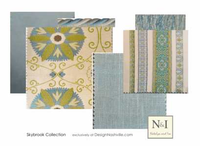 Skybrook Bedding and Drapery Collection