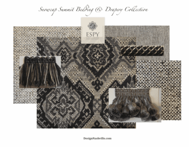 Snowcap Summit Bedding and Drapery Collection