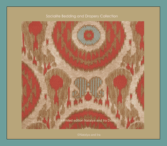 Socialite Bedding and Drapery Collection