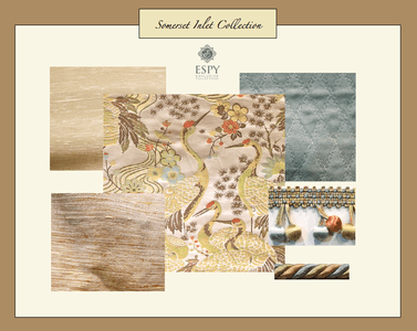 Somerset Inlet Bedding and Drapery Collection