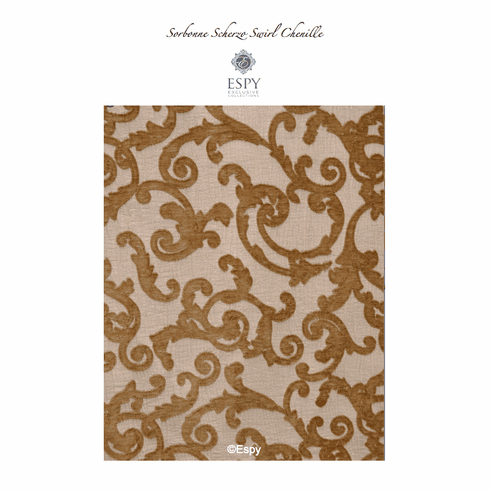Sorbonne Scherzo French Swirl Fabric