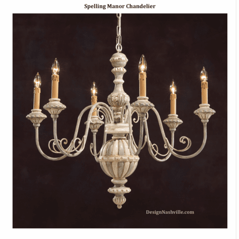Spelling Manor Chandelier