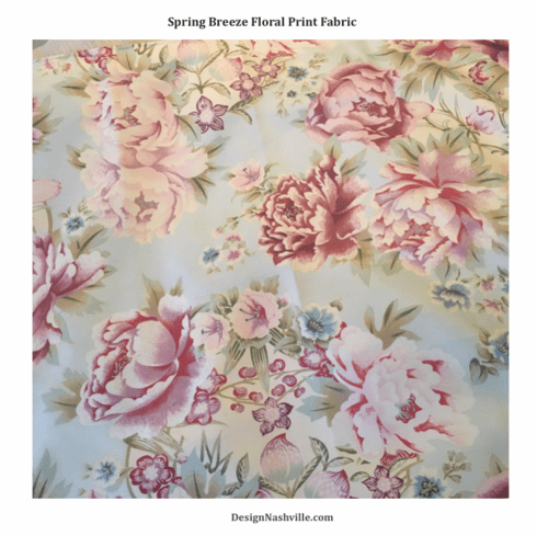 Spring Breeze Floral Print Fabric