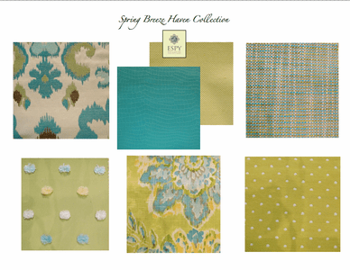 Spring Breeze Haven Bedding and Drapery Collection