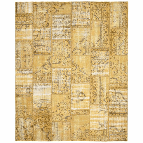 Sublime Yellow Gold Rug