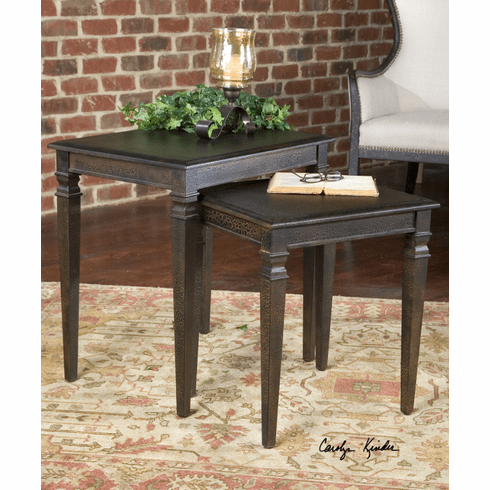Suburban Home Nesting Tables set of 2
