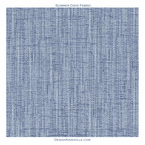 Summer Days Fabric blue