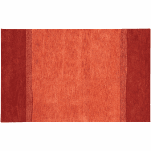 Sunny Red Wool Rug