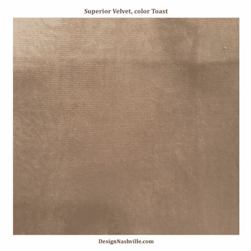 Superior Velvet, color toast