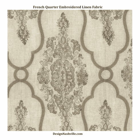 SWATCH French Quarter Linen Fabric