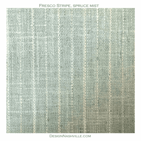 SWATCH Fresco Stripe Fabric, spruce mist