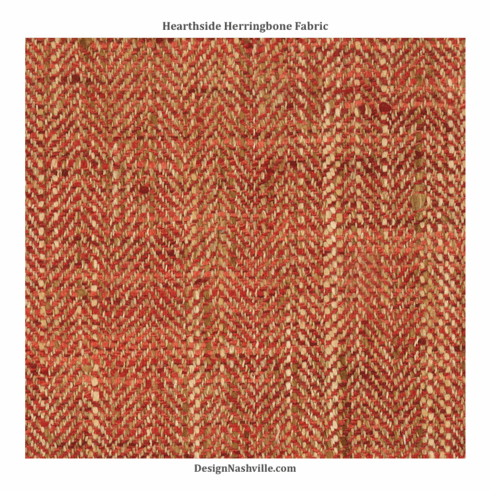 Swatch Hearthside Herringbone Fabric