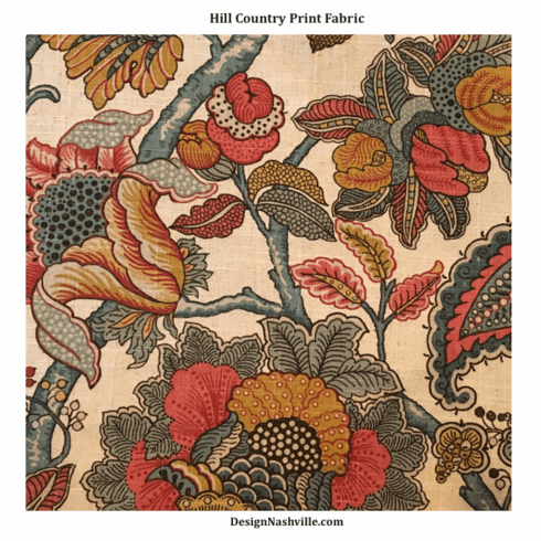 SWATCH Hill Country Print Fabric