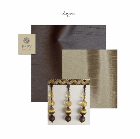 SWATCH Luxore Faux Silks and trim