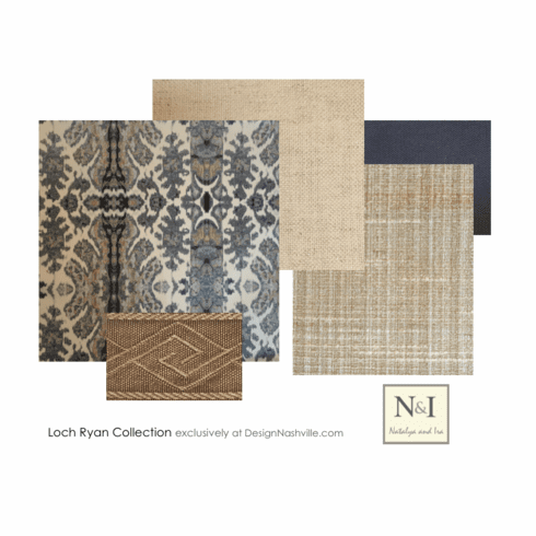 Swatch Set Loch Ryan Bedding and Drapery Collection