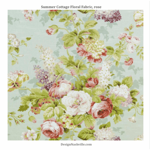 SWATCH Summer Cottage Floral, rose