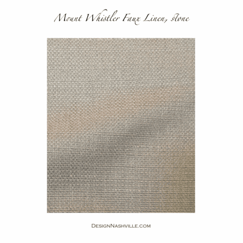 SWATCH Whistler's Faux Linen
