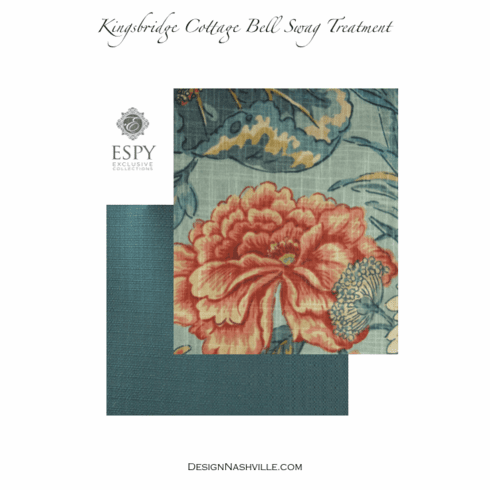 SWATCHES Kingsbridge Cottage Bell Swag Treatment