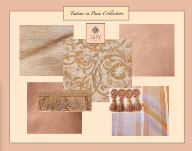 Tea Time in Paris Bedding and Drapery Collection
