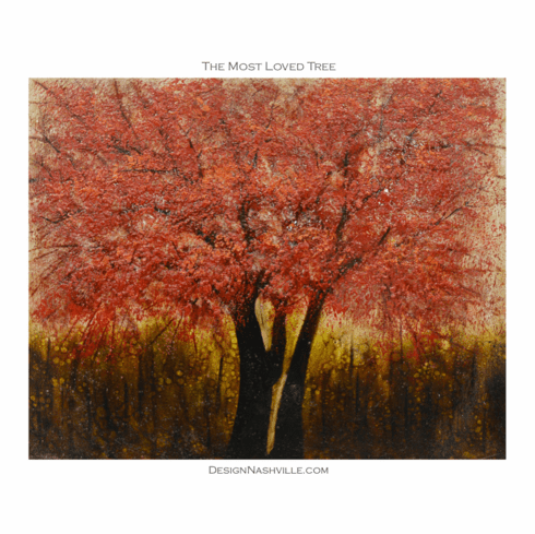 The Most Loved Tree Canvas Painting