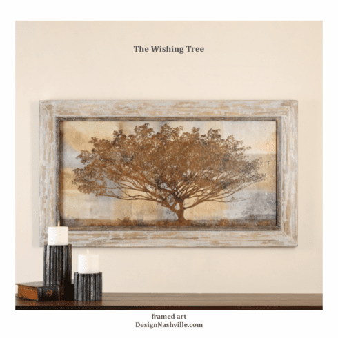The Wishing Tree Framed Art 56""