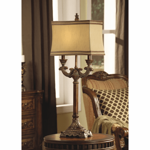 Theodore Two Armed Lamp