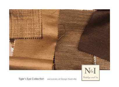 Tiger's Eye Bedding and Drapery Collection