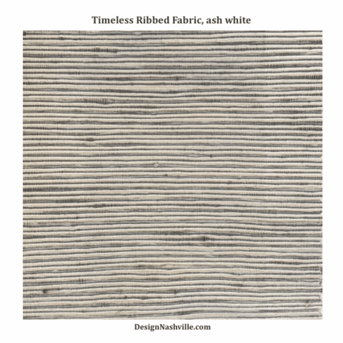 Timeless Ribbed Fabric, ash white