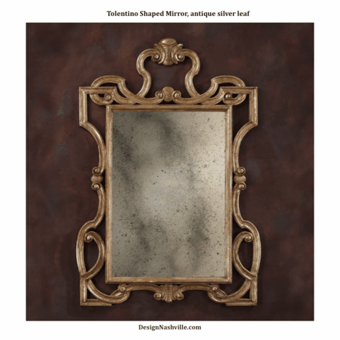 Tolentino Shaped Mirror