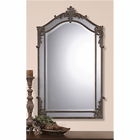 """Tosca Ornate Arched Mirror 48"""""""